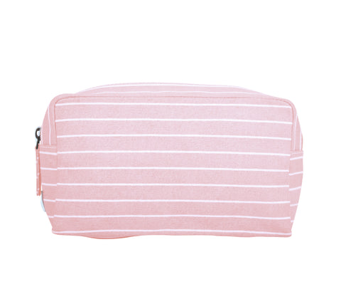 Stripes, Everyday Pouch, Blush