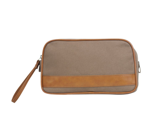 TA189: Jet Set Pouch, Olive (Travel, Toiletry pouch, Cosmetic Pouch, Gift)
