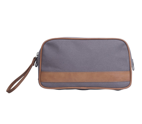 TA190: Jet Set Pouch, Gray (Travel, Toiletry pouch, Cosmetic Pouch, Gift)