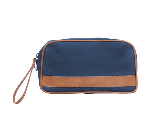 TA192: Jet Set Pouch, Navy (Travel, Toiletry pouch, Cosmetic Pouch, Gift)