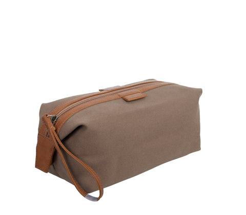 TA193: Essential Pouch, Olive (Travel, Toiletry pouch, Cosmetic Pouch, Gift)