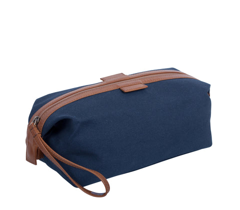 TA196: Essential Pouch, Navy (Travel, Toiletry pouch, Cosmetic Pouch, Gift)
