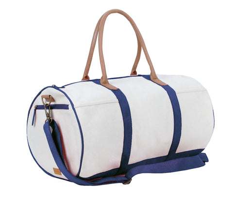 ZT117: Round Duffel Bag, Navy