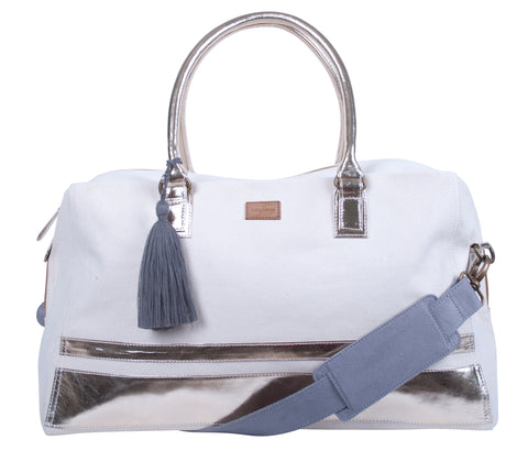 ZT140: Ravenna Duffel Bag, Metallic