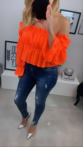 TOP UNI KATE ORANGE