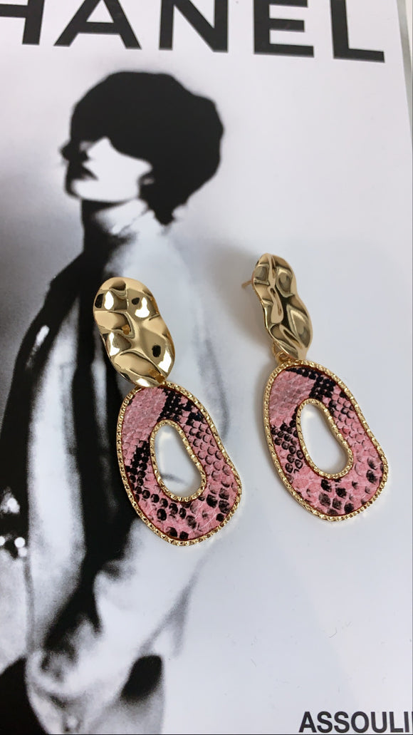 BOUCLE D'OREILLE MADIE ROSE