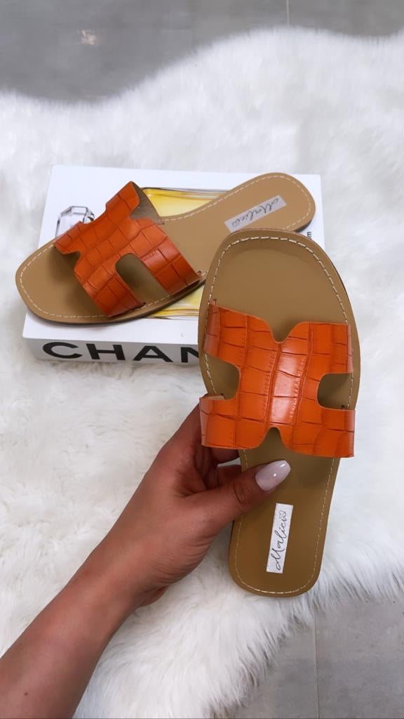 MULES CC818-51 ORANGE