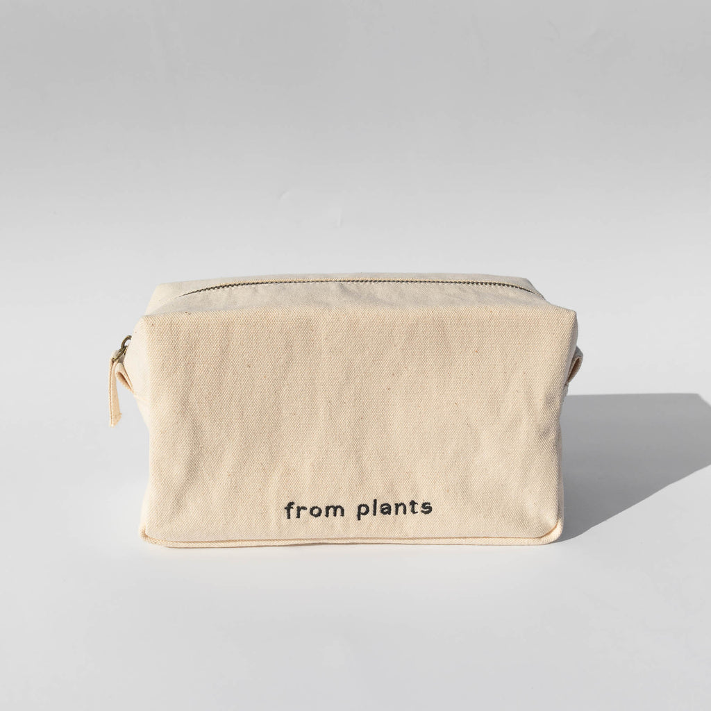 Organic Cotton Canvas Toiletry Case