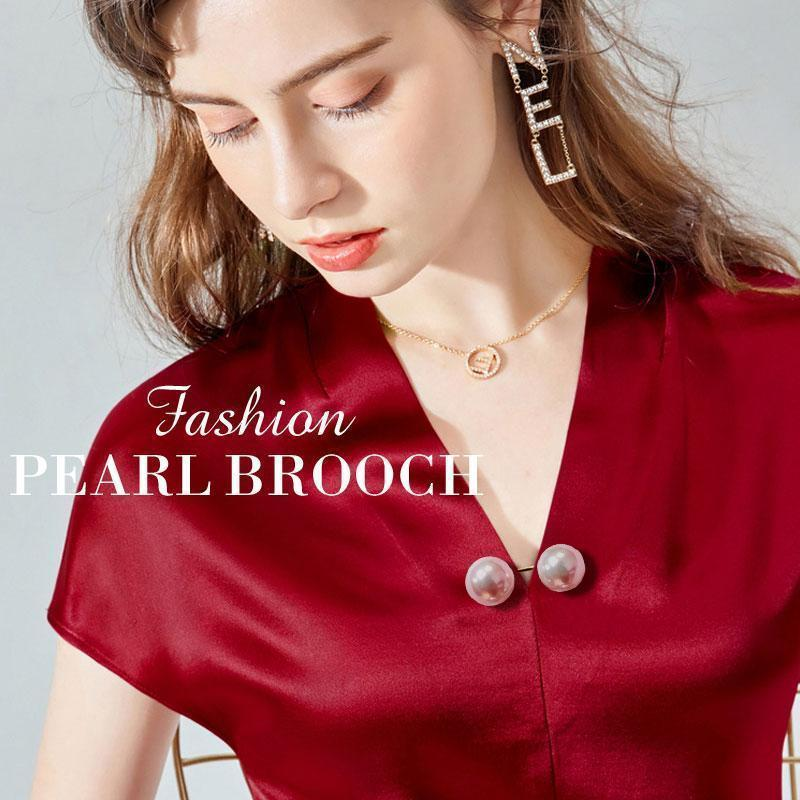 (New year sale)Fashion Pearl Brooch (BUY 1 GET 2 FREE )
