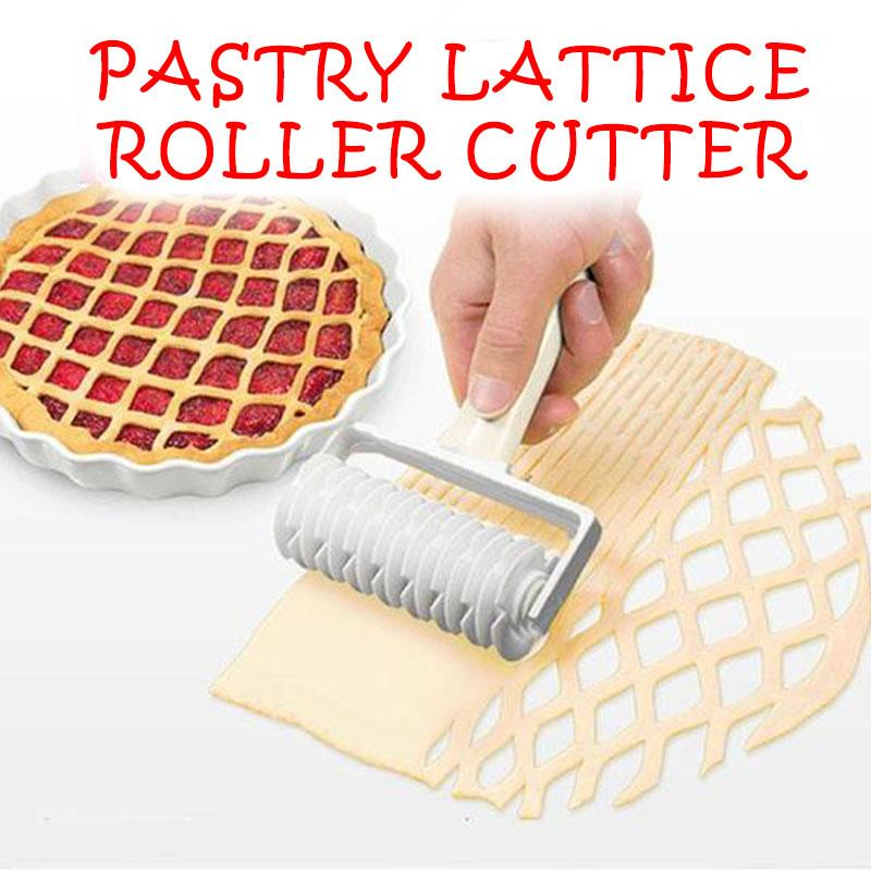 (Christmas Promotion-50% OFF) Pastry Lattice Roller Cutter