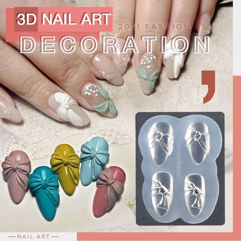 3D Nail Art Decoration Mold