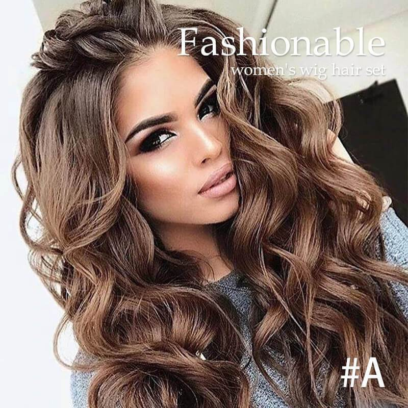 Fashionable Women's Wig Hair Set