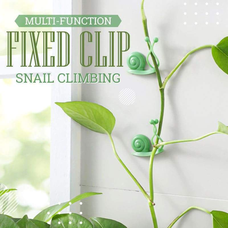 Multi-function Snail Climbing Fixed Clip (10PCS)