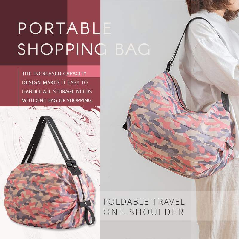 Foldable Travel One-shoulder Portable Shopping Bag