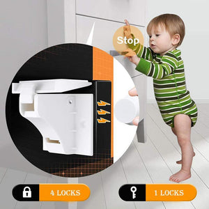 Baby Safety Magnetic Cabinet Lock