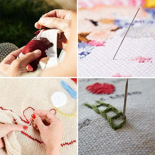 DIY Pattern Embroidery Craft Set