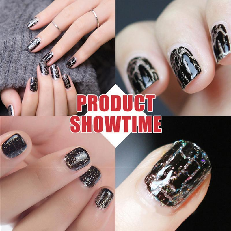 Crackle Gel Nail Polish
