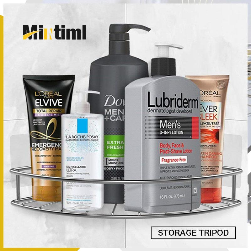 Mintiml Bathroom Kitchen Storage Rack