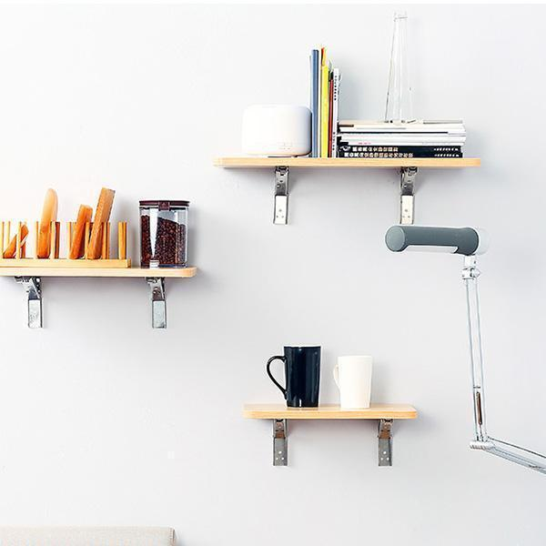 Folding Shelf Bracket  ( 2 PCS )