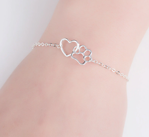 FREE Paw and Heart Bracelet