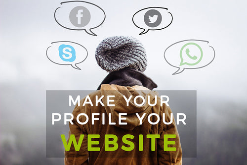 Make Your Profile Your Web