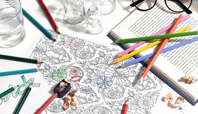 De-Stress and Self Express with the Adult Colouring Book Craze. I highly recommend it.