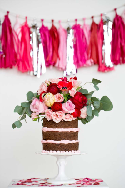 3 Words on Styling a Chic Baby Shower; Tissue Garlands, Giant Balloons and Tassels