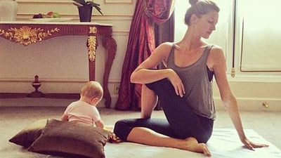 A sensible reminder to exhausted Mothers from Supermodel Gisele Bundchen