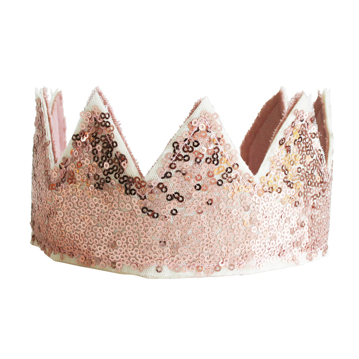 Alimrose Sequin Crown - Rose Gold