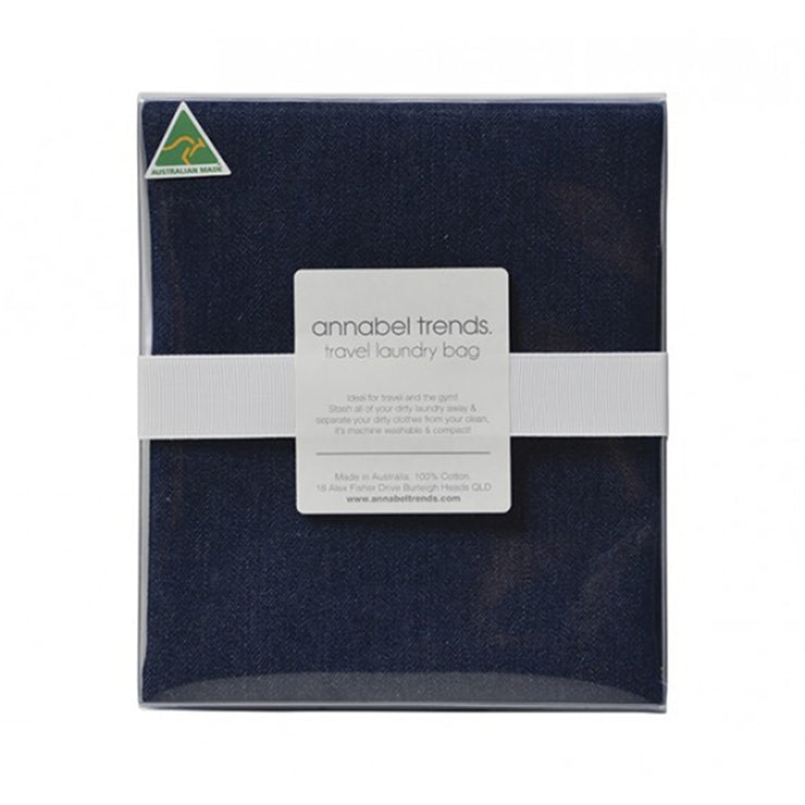 Annabel Trend Laundry Bag - Denim