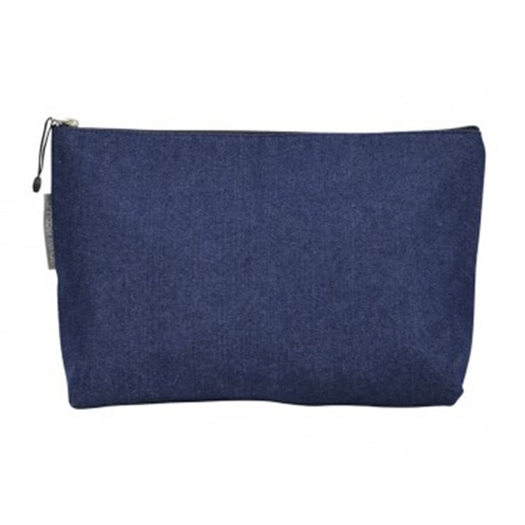 Denim Toiletry Bag by Annabel Trend