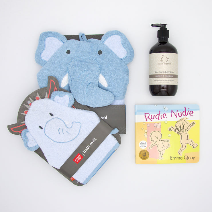 Eddie Elephant Bathtime Hamper
