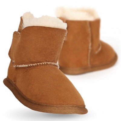 Emu Sheepskin Booties - Chestnut