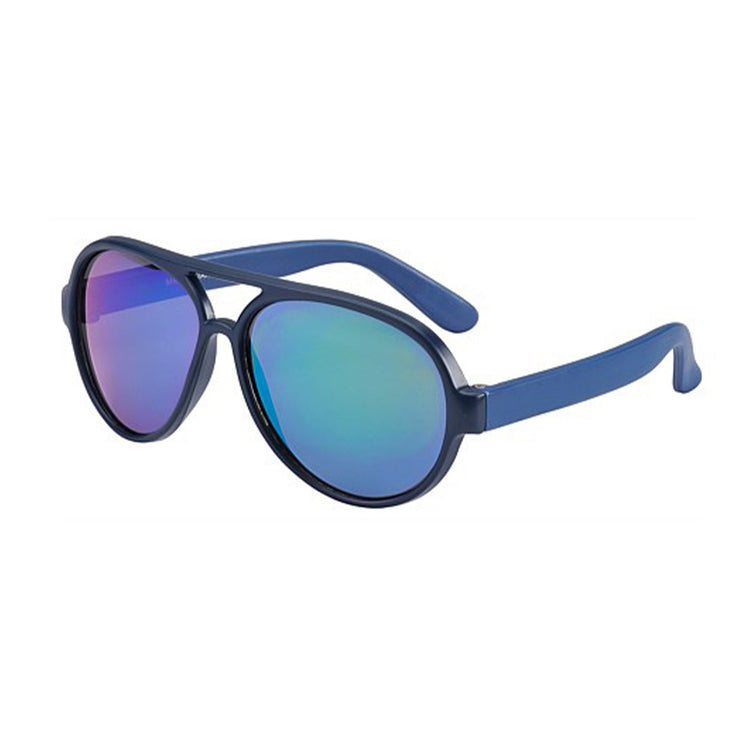 Frankie Ray Pilot Sunglasses - Matt Blue