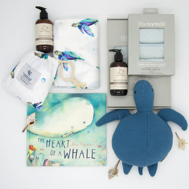 The Big Blue - Bed & Bath Baby Hamper
