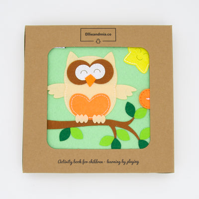 Ollie and Mia - Owl Quiet Time Book