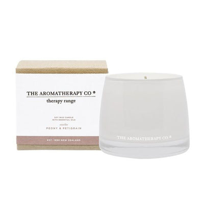 Therapy® Candle Soothe - Peony & Petitgrain