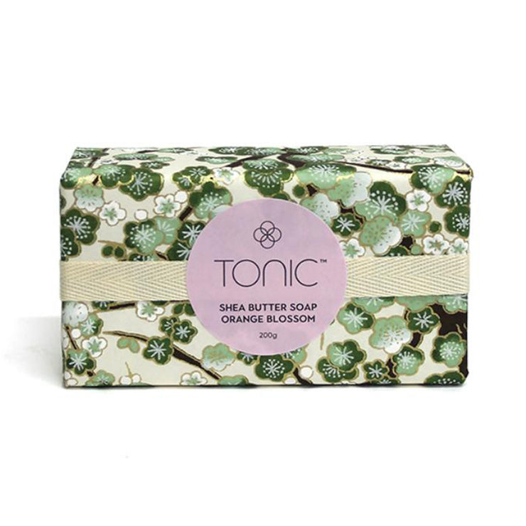 Tonic Shea Butter & Orange Blossom Soap