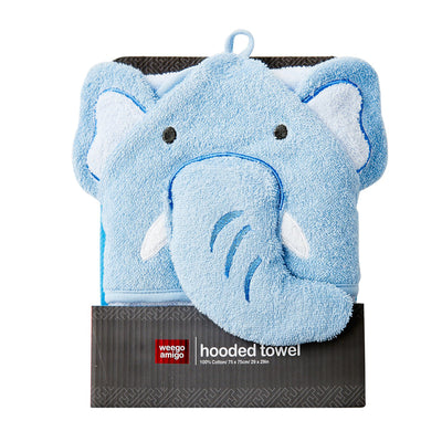 Weegoamigo Hooded Towel Elephant