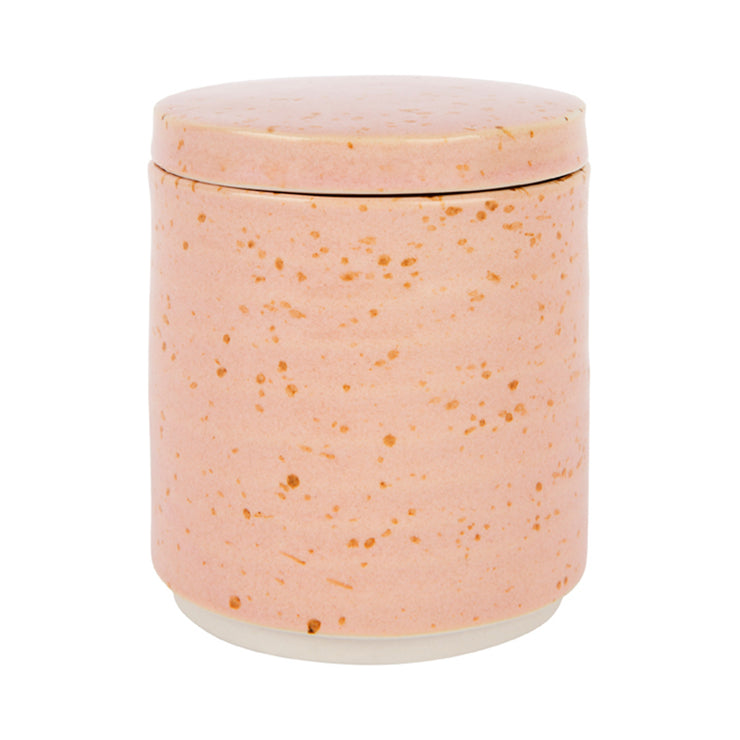 ZAKKIA Speckle Canister - Pink