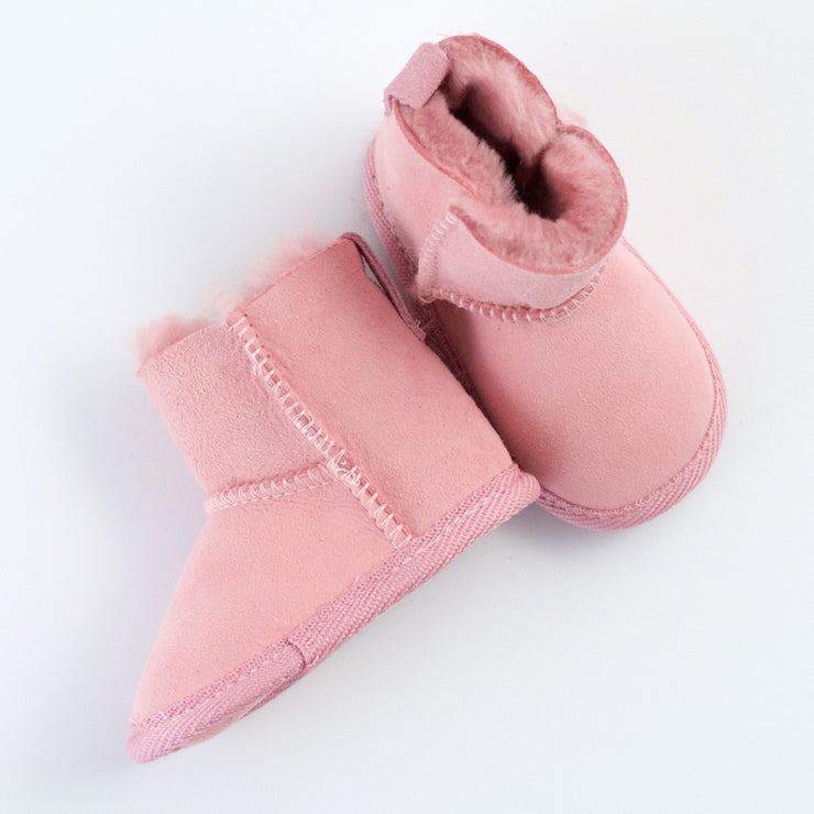 Emu Sheepskin Booties in pink the perfect baby Ugh boot from Australia