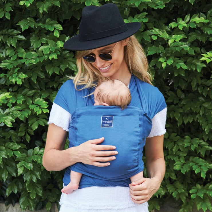 Hug A Bub Baby Carrier - Bryon Blue