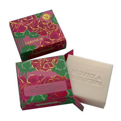 Murphy & Daughters Boxed Soap - Geranium