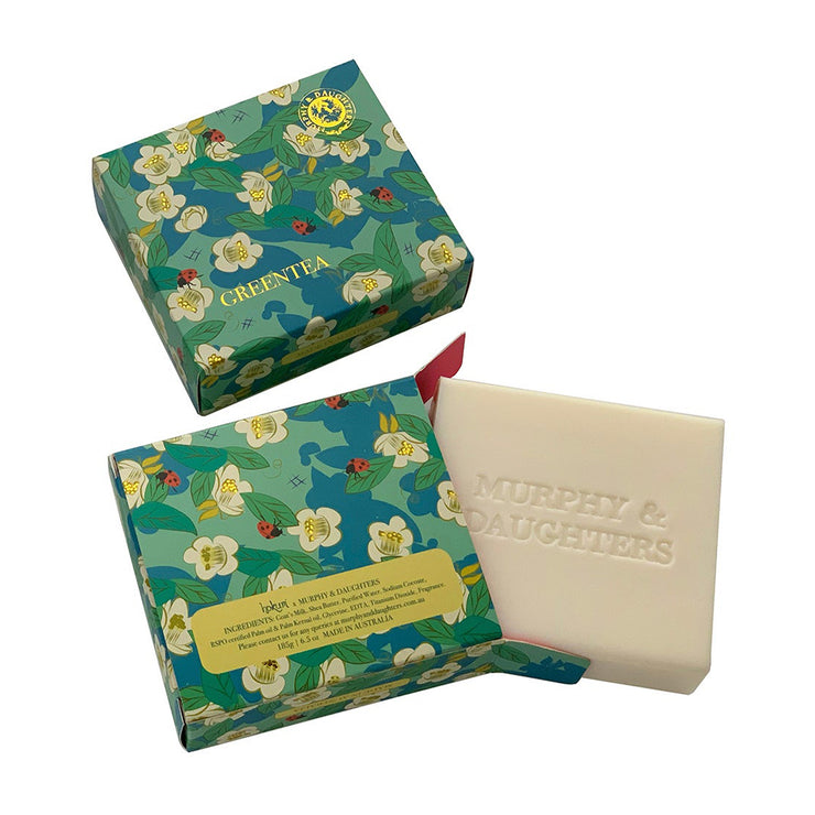 Murphy & Daughters Boxed Soap - Green Tea