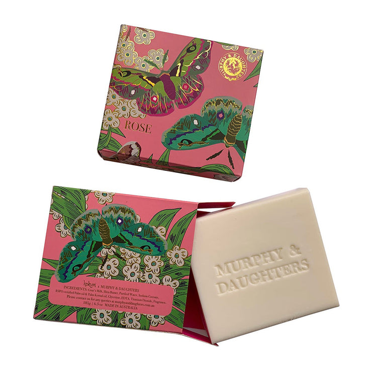 Murphy & Daughters Boxed Soap - Rose