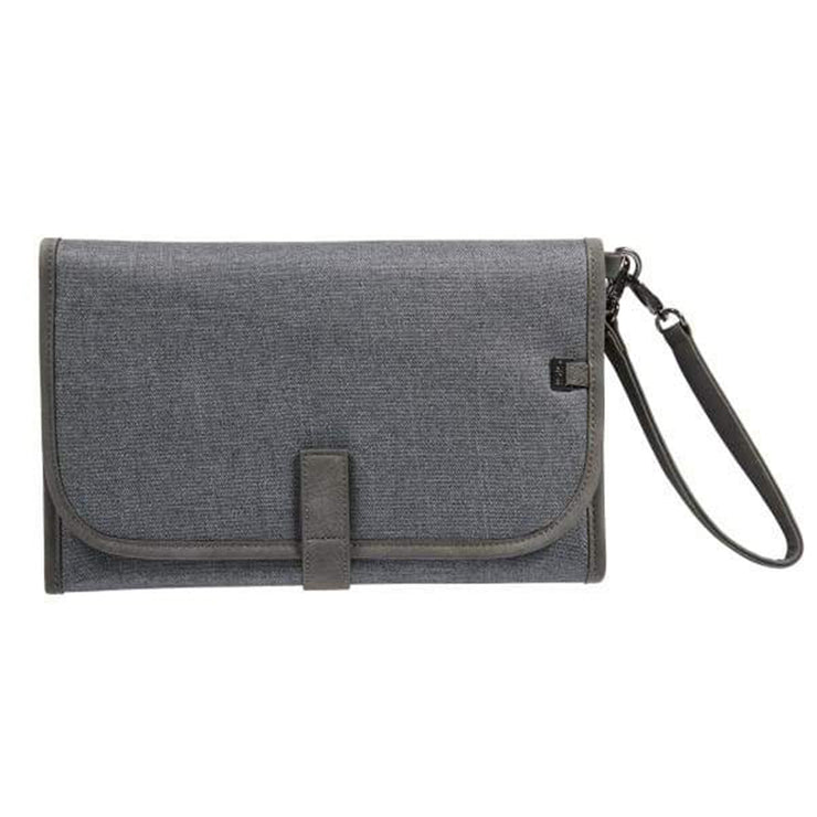 OiOi  Denim Nappy Clutch - Grey
