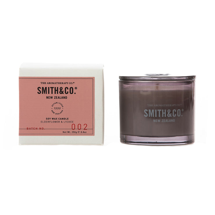 Smith & Co Elderflower & Lychee Candle