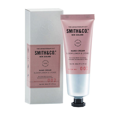 Smith & Co Hand Cream – Elderflower & Lychee