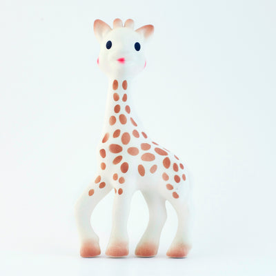 Sophie Giraffe the most famous and successful natural teething toy