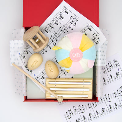 Sound Of Music Baby Hamper - Pink